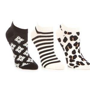 🆕Kate Spade 3pk of No Show Socks
